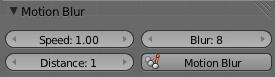 Motion Blurパネル