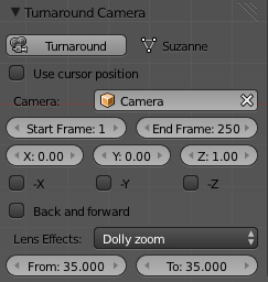 Turnaround Camera