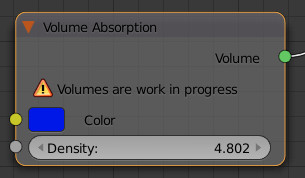 Volume Absorption Shader