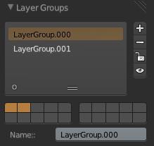 Layer Groupsパネル