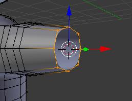 3Dカーソルの移動