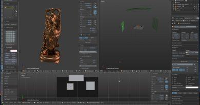 Blender Addon Review: ライティング設定の補助に(Blender Light Studio)