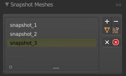 Snapshot Meshes