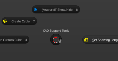 自作Blender Addon : CAD Support Tools