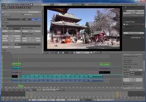Blender Video Sequence Editor