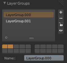 Layer Groupsパネル