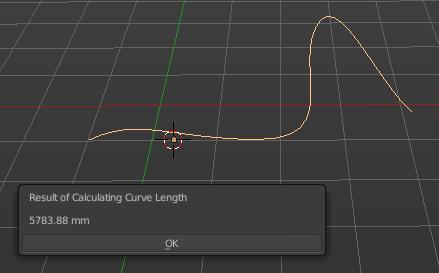 Curve length(カーブの長さを表示)