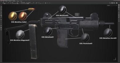 銃のSmart Material