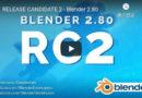 Blender 2.8 RC2になった。