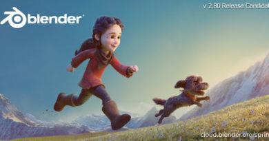 Blender 2.80 Release Candidate版が正式リリースされた!