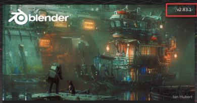 Blender 2.83.1 LTSリリース