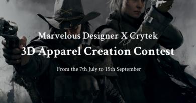 ハンター衣装の3D apparel Creation Contest開催!